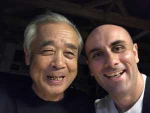 Bujinkan-Dai-Shihan-Noguchi-Sensei-and-Sasa-Kesic